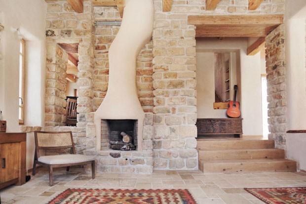 Casa feita como tijolos de Cannabis é sustentável e muito charmosa (Foto: Divulgação)