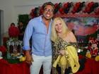 Vanusa vai com o produtor Sebah Vieira a aniversário em São Paulo