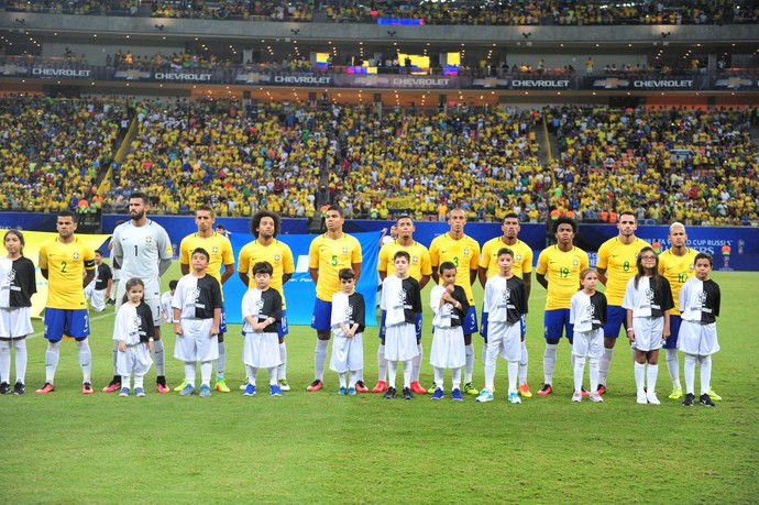 Brasil Colombia Arena da Amazonia Manaus (Foto: Getty Images)