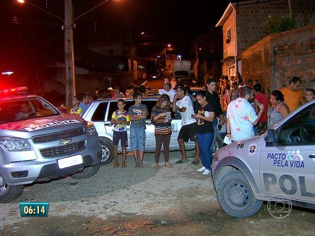 Rebelião na Funase (Foto: Reprodução/TV Globo)
