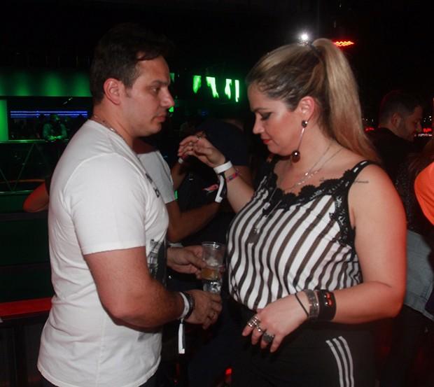 Fani Pacheco e Leandro Fernandes (Foto: Sérgio Gallo/ Ed. Globo)