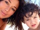 Com colegas de elenco, Dani Suzuki define 'ser mãe': 'Melhor e mais difícil experiência'