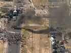 Protestos de sem-teto bloqueiam  vias em BH e Região Metropolitana