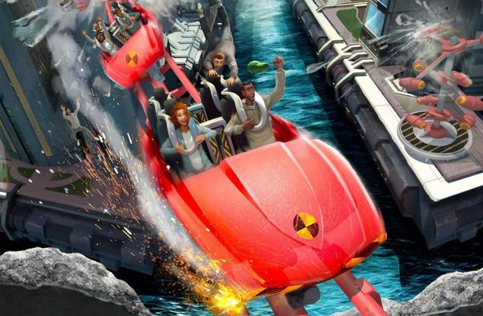 Scream Ride (Foto: Divulgação)