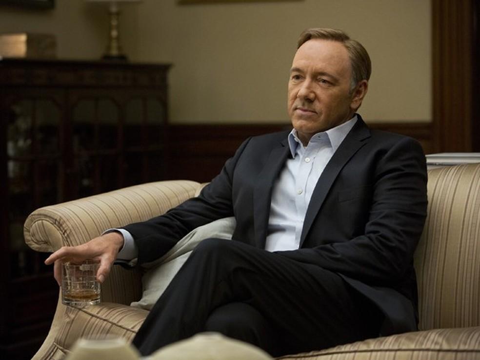 Seriado House of Card é uma produção original do Netflix, serviço de vídeos pela internet (Foto: Reprodução)