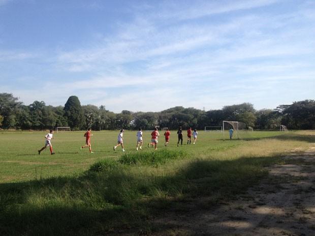 Chácara do Jockey na Zona Oeste vai virar parque em São Paulo (Foto: Isabela Leite/G1)