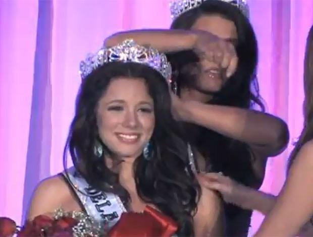 Melissa, que havia vencido o concurso em novembro de 2012 (Foto: Reprodução)