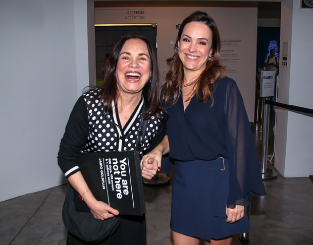 Regina e Gabriela Duarte (Foto: Manuela Scarpa/Brazil News)