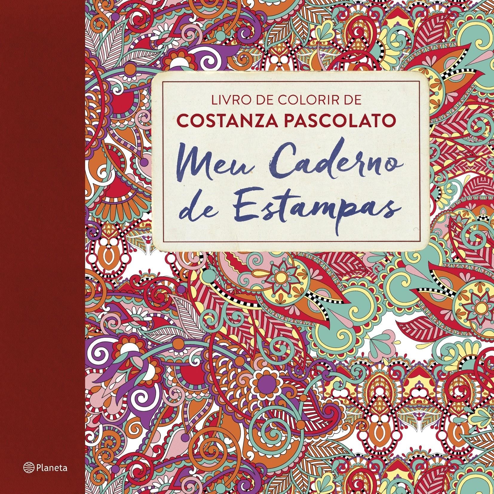"""""""Meu Caderno de Estampas"""", da Editora Planeta (Foto: Divulgação)"""