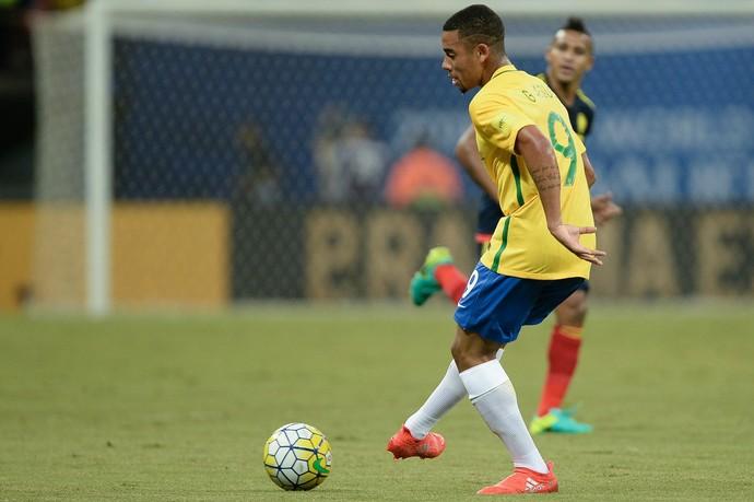 gabriel jesus brasil colombia manaus (Foto: Pedro Martins / MoWA Press)