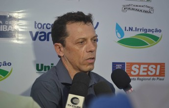 Parnahyba anuncia técnico Fernando Tonet e retorno do atacante Fabiano