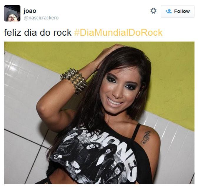 Dia Mundial do Rock - Anitta