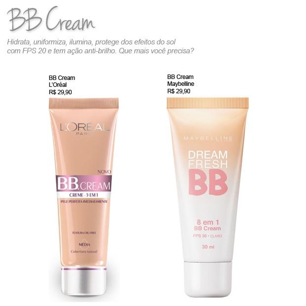 BB Cream finalmente foi democratizado no Brasil! (Foto: Divulgação)