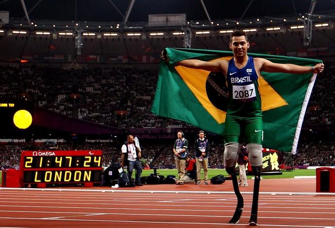 Paralimpíada Alan Fonteles Cardoso Oliveira 200 m (Foto: Agência Getty Images)