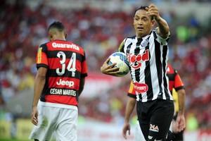 Flamengo Santos Ricardo Oliveira (Foto: Ag Estado)