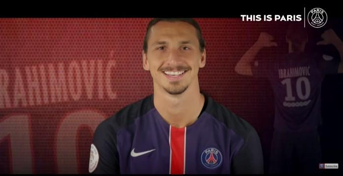 Zlatan Ibrahimovic entrevista PSG