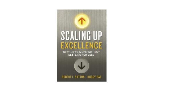Livro de Robert Sutton e Huggy Rao (Foto: Divulgação)