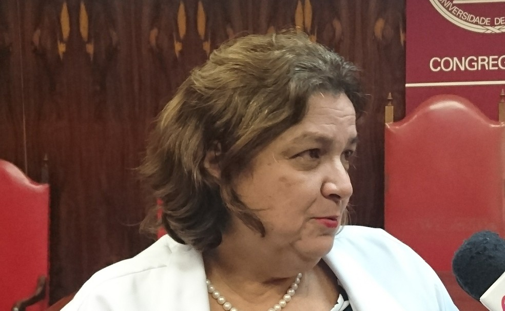 A superintendente do Centrinho, Maria Aparecida Machado, explicou mais detalhes sobre o curso de medicina em Bauru (Foto: Tiago de Moraes / G1)