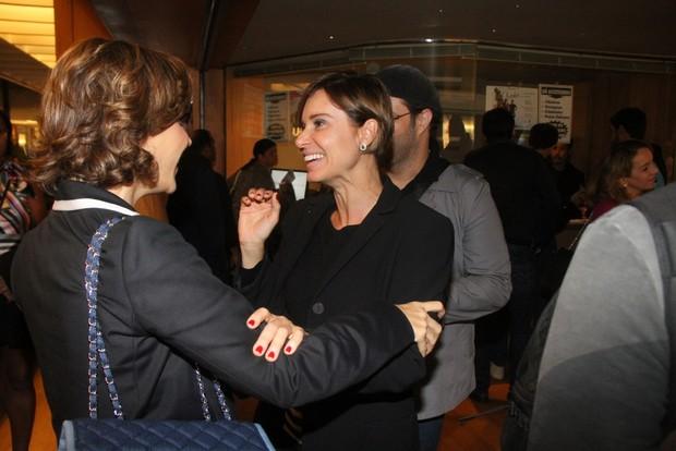 Guilhermina Guinle e Paula Burlamaqui (Foto: Daniel Delmiro/Agnews)