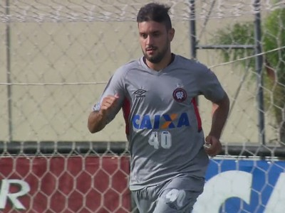 Bruno Pelissari Atlético-PR (Foto: Reprodução/ RPC)