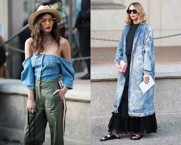 Blusas ou casacos diferentes são uma forma de fugir do comum (Foto: Joanna Totolici)