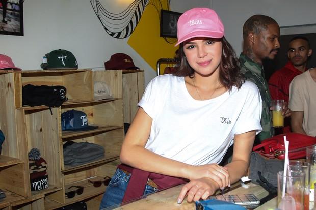Bruna Marquezine em evento de moda em São Paulo (Foto: Manuela Scarpa/ Brazil News)