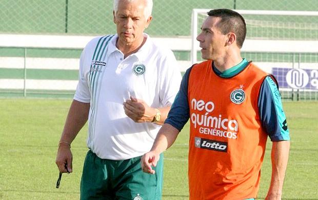 Felipe e Leão, Góias (Foto: Divulgação / site oficial do Góias)