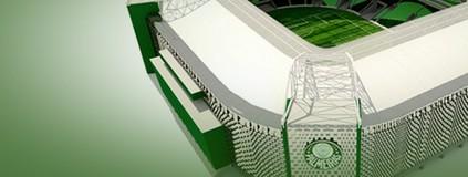 Veja especial sobre a  nova casa do Palmeiras (Editoria de arte)
