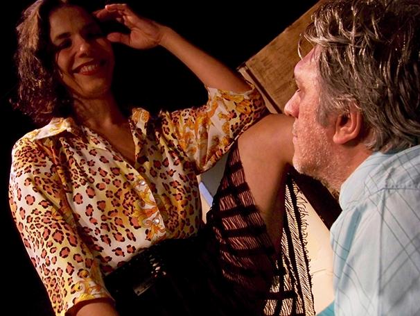 Fernanda D'Umbra e Mário Bortolotto também atuaram no espetáculo (Foto: Gisela Schlögel)