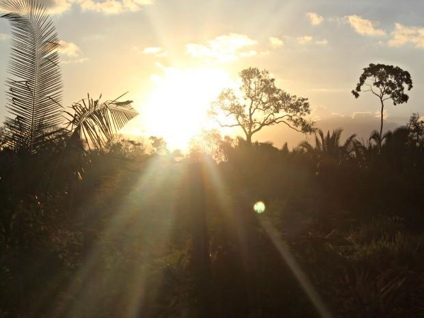 O sol continua a brilhar forte em Rondônia nesta quarta-feira, 27. (Foto: Taísa Arruda)