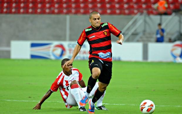 Náutico x Sport - Oziel - Felipe Azevedo (Foto: Aldo Carneiro/Pernambuco Press)