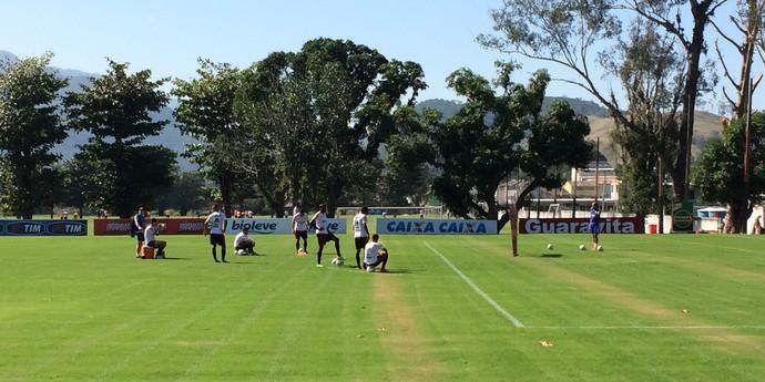 Treino Flamengo Ninho do Urubu (Foto: Ivan Raupp)