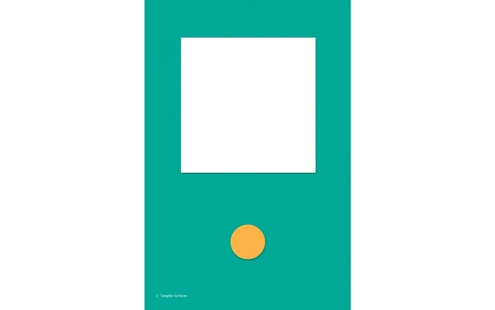 Segundo princípio do Material Design: Surfaces are intuitive and natural (Foto: Reprodução/Google).