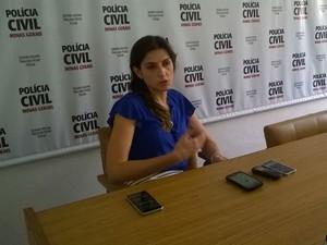 Delegada de Muriaé, Natalia Magalhães (Foto: Danielle Bittar/Polícia Civil)
