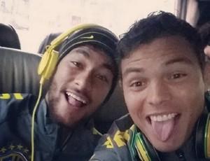 Thiago Silva Neymar (Foto: Reprodução / Instagram)