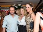 Winits, Nanda Costa e mais famosas vão a evento comandado por Biaggi
