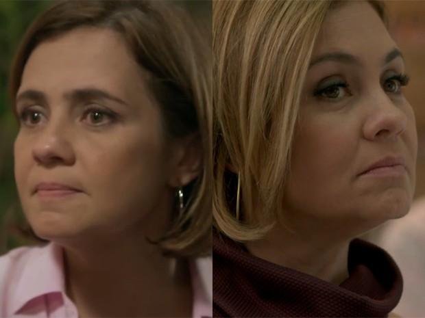 Mais um pouquinho do antes e depois de Inês (Foto: Divulgação/TV Globo)
