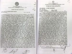 Depoimentos testemunhas caso Bernardo  (Foto: Reprodução)