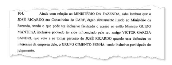 Documento da Polícia Federal na Operação Zelotes (Foto: Reprodução)