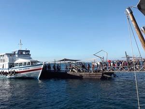 G1 - Travessia Salvador-Mar Grande volta a operar após ficar 2 dias ... ef4d191008752