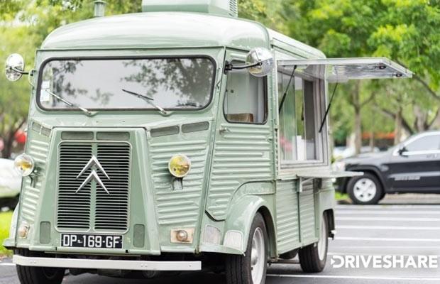 Van H da Citroën é alugada apenas para eventos, um truckfood mais hipster seria impossível (Foto: Reprodução)