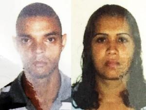 Francisco (dir.) assassinou Ione (esq.) por ciúmes em São Vicente, no litoral de São Paulo (Foto: G1)