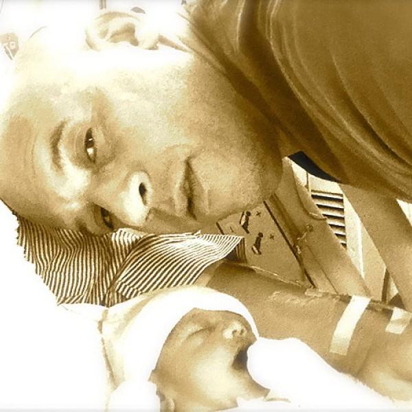Vin Diesel e a sua filha (Foto: Instagram)