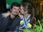 Miranda Kerr e Orlando Bloom vão a festa pré-Oscar