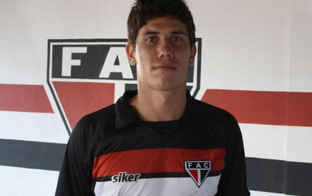 Giancarlo Ferroviário (Foto: Site Oficial do Ferroviário)