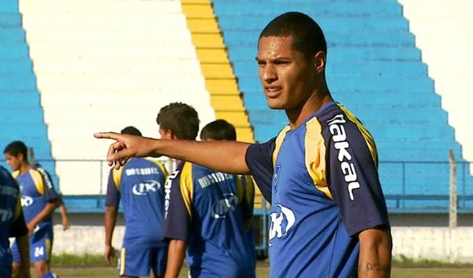João Gabriel, zagueiro do Rio Claro (Foto: Reprodução / EPTV)