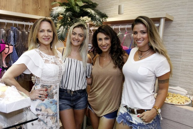 Laura Keller, Marinara Costa e Jaque Khury (Foto: Marcos Ferreira/Brazil News)
