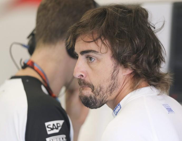 Fernando Alonso, McLaren, GP da Bélgica Spa (Foto: EFE)