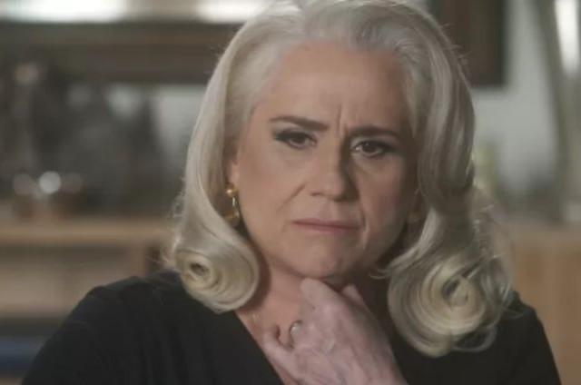 Vera Holtz, a Magnólia de 'A lei do amor' (Foto: TV Globo)