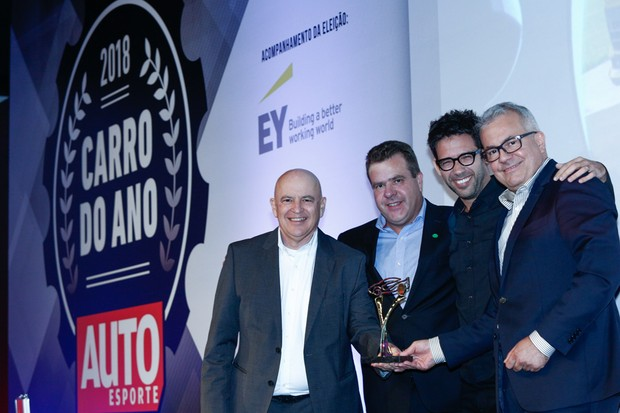Volkswagen leva o prêmio de Carro do Ano 2018 (Foto: Ricardo Cardoso)